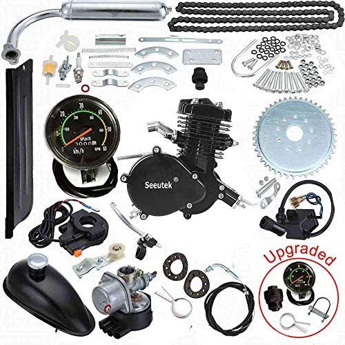 "Seeutek 26"" or 28"" 80cc Bike Bicycle Motorized 2 Stroke Cycle Motor Engine Kit Set"