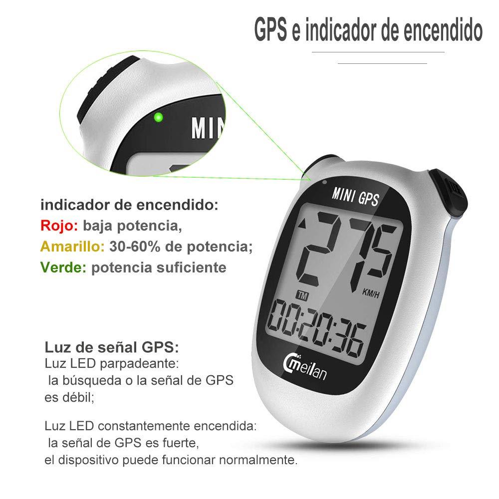 Cmeilan GPS Mini Smart Fahrradcomputer Drahtlose wasserdichte Fahrrad Radfahren Tacho USB Wiederaufladbare MEILAN M3