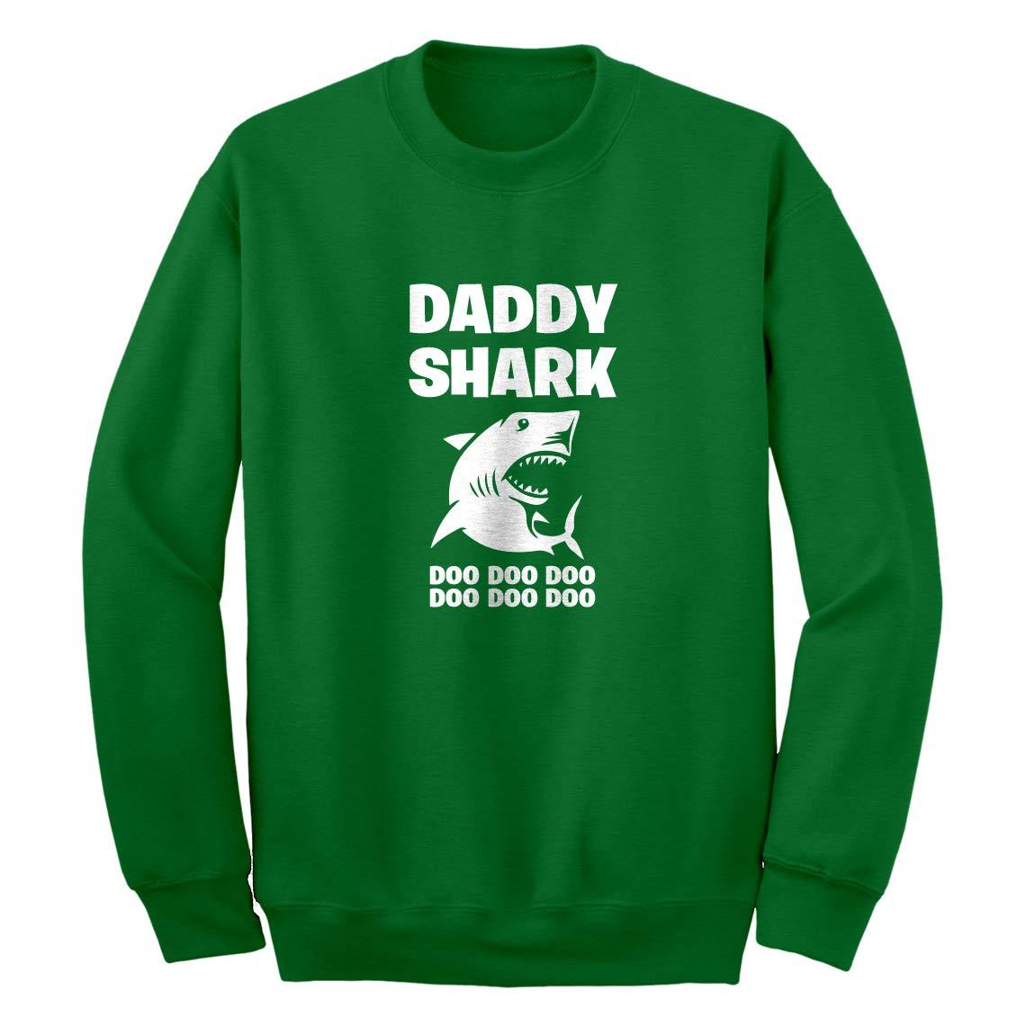 Indica Plateau Daddy Shark Unisex Adult Sweatshirt 3757-C