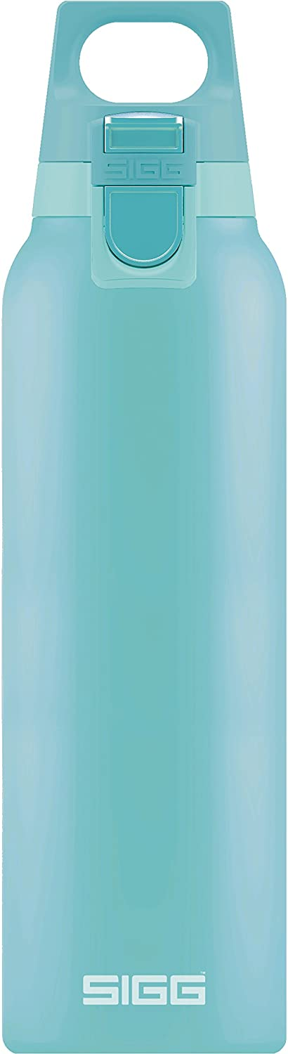 SIGG Switzerland Thermo Flask Hot & Cold ONE Glacier (0.5 L), Vacuum Insulated Stainless Steel, Coffee Thermos Cup, Removable Tea Infuser Bottle, Keeps Hot & Cold for Hours, Leakproof