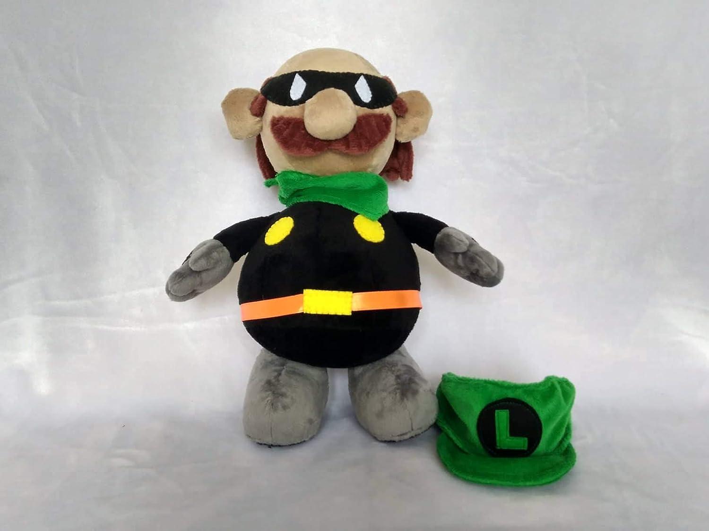 Plush Mario Plush Fun Art Custom Plush 30 Cm Minky Toy Inspired By Super Paper Mario Mr L Mascot Commissioned Plush Toys Games Plushies Stuffed Animals