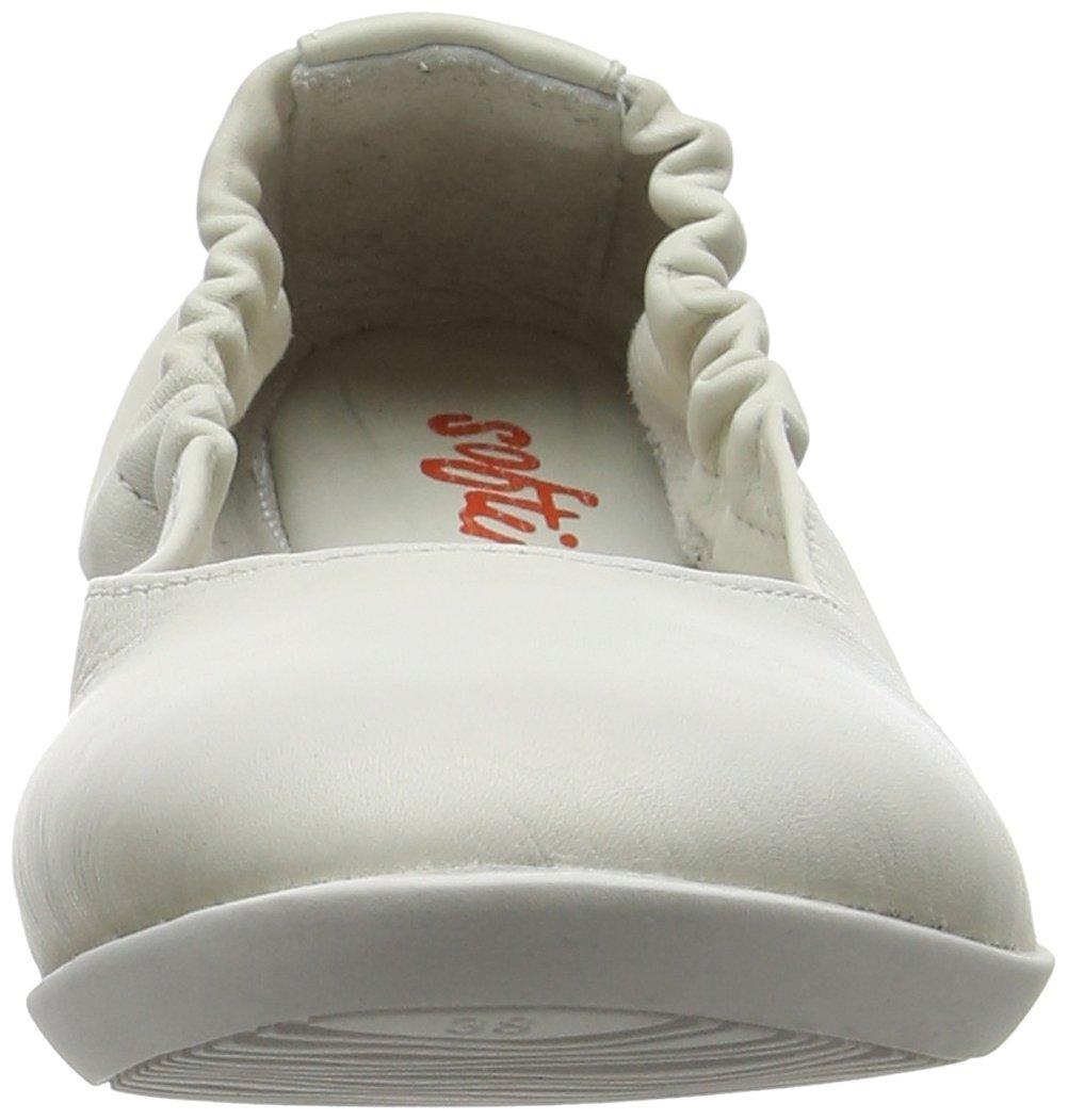Softinos Ona380sof Damen Ona380sof Softinos Geschlossene Ballerinas, Weiß (Weiß) 85dfbf