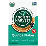 Ancient Harvest Organic Gluten-Free 100% Whole Grain Quinoa Flakes, 12 Ounce Box, A Natural Substitution to Oatmeal or Wheat-Based Cereals