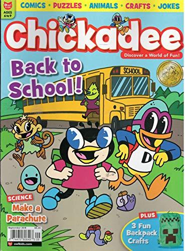Chickadee Magazine September -