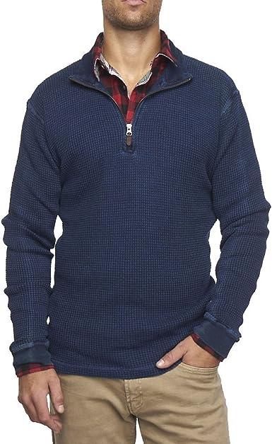 Tailor Vintage 1//4 Zip Performance Long Sleeve Jersey Shirt Medium M Sweatshirt