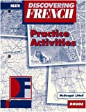 Discovering French Rouge, Euro Edition, MCDOUGAL LITTEL, 0618047107