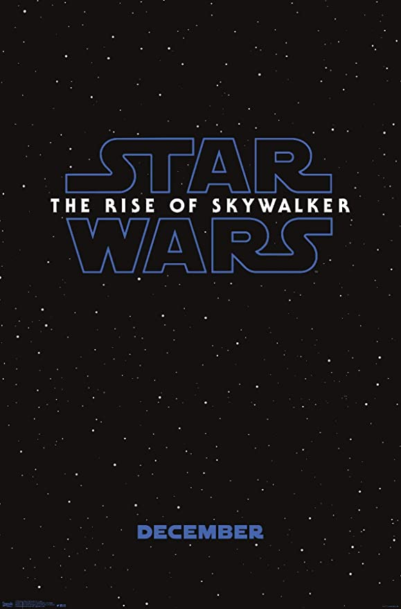 "STAR WARS THE RISE OF SKYWALKER Movie 23 X 34"" Premium Unframed Poster NEW"