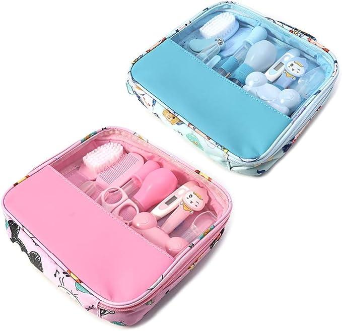kit completo de cuidado de la guarder/ía Azul Hothuimin Deluxe Kit de cuidado de la salud y el cuidado del beb/é de 14 piezas