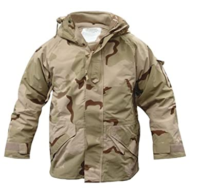 GI ECWCS 3 Color Desert Cold Weather PARKA Goretex Parka at Amazon ...
