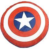 マーベル キャプテンアメリカ クッション ダイカットクッション ディズニー モリシタ 約25cm マイクロポリエステル100%