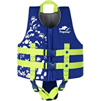 Gogokids Jungen Mädchen Schwimmweste Schwimmen Jacke - Kinder Schwimmende Badeanzug Bademode Schwimmtraining Kleinkind Lernt Schwimmen