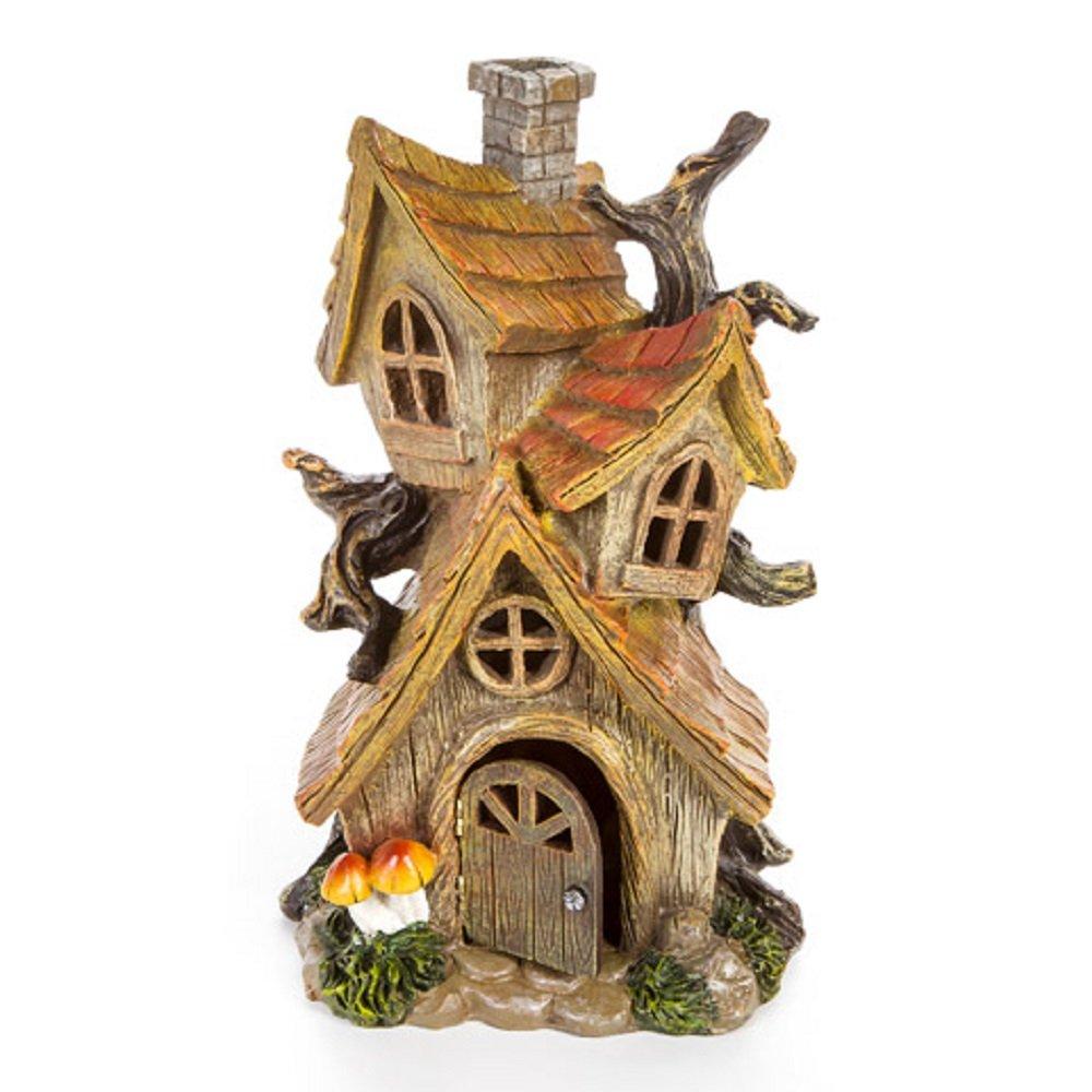 Darice 30005336 Fairy Tree House - Resin