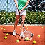 Kollectaball CS40 40 Ball Collector Mini   Ball Picker Upper for Tennis, Pickleball, Padel and More   Holds 40 Tennis Balls or Pickleball Balls