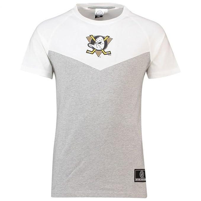 Majestic Camiseta NHL Anaheim Ducks Dene Poly Mesh Negro/Blanco Talla: M (Medium) y4uEDwK