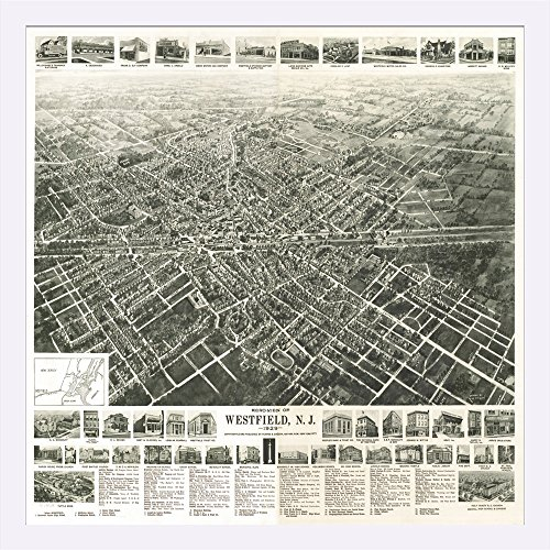 westfield-new-jersey-panoramic-map-24x20-1-8-giclee-art-print-gallery-framed-white-wood