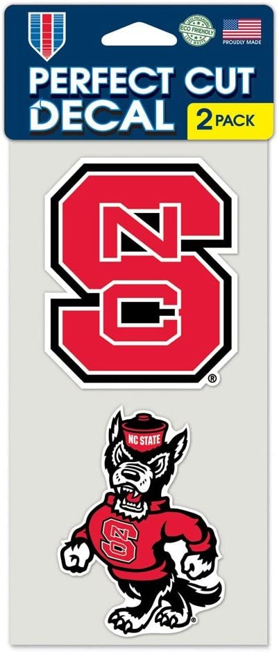 WinCraft NCAA Perfect Cut Decal (Set of 2)