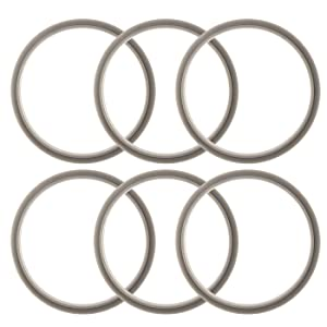 ELEFOCUS Gaskets for Nutribullet 900W and Pro - Pack of 6 Replacements