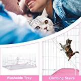 Cat Cage Cat Crate Kennel Cat Playpen with Free
