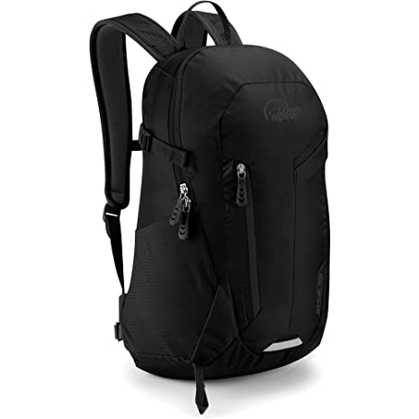 1aa304b97f1 Lowe Alpine - Edge-II 22 Ltr Backpack - Multi-use day pack (Black)   Amazon.in  Bags