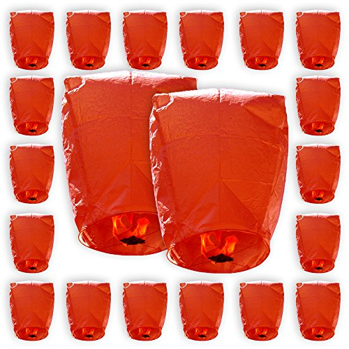 Just-Artifacts-ECO-Wire-Free-Flying-Chinese-Sky-Lanterns-Set-of-20-Eclipse-Red-100-Biodegradable-Environmentally-Friendly-Lanterns