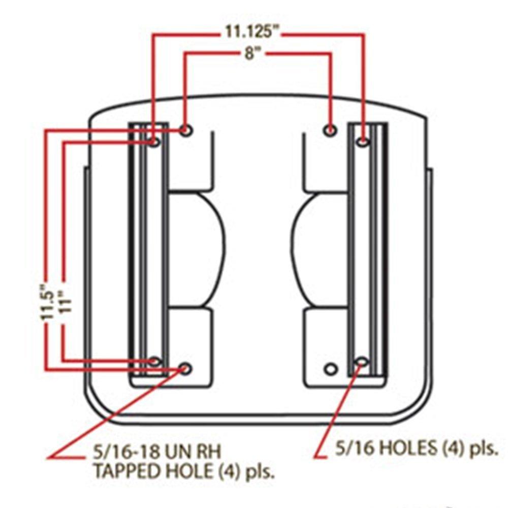 Seat Standard W Slide Tracks Industrial Scientific John Deere 425 Wiring Diagram Lzk Gallery