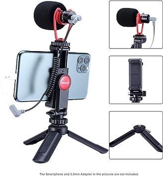 ULANZI - Kit de vídeo para Smartphone, Mini trípode + Soporte ...