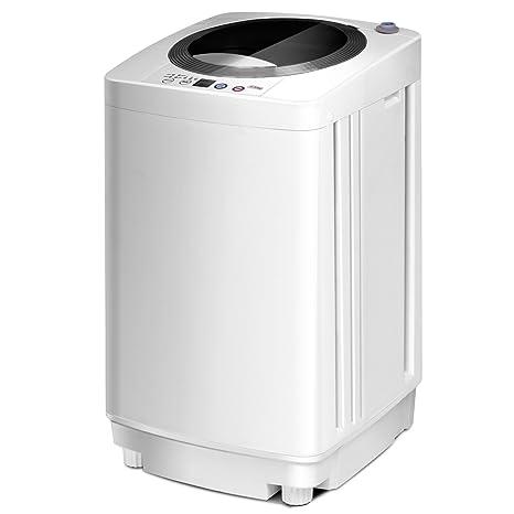 costway Mini lavadora lava 240 W Secadora con un Bucket ...
