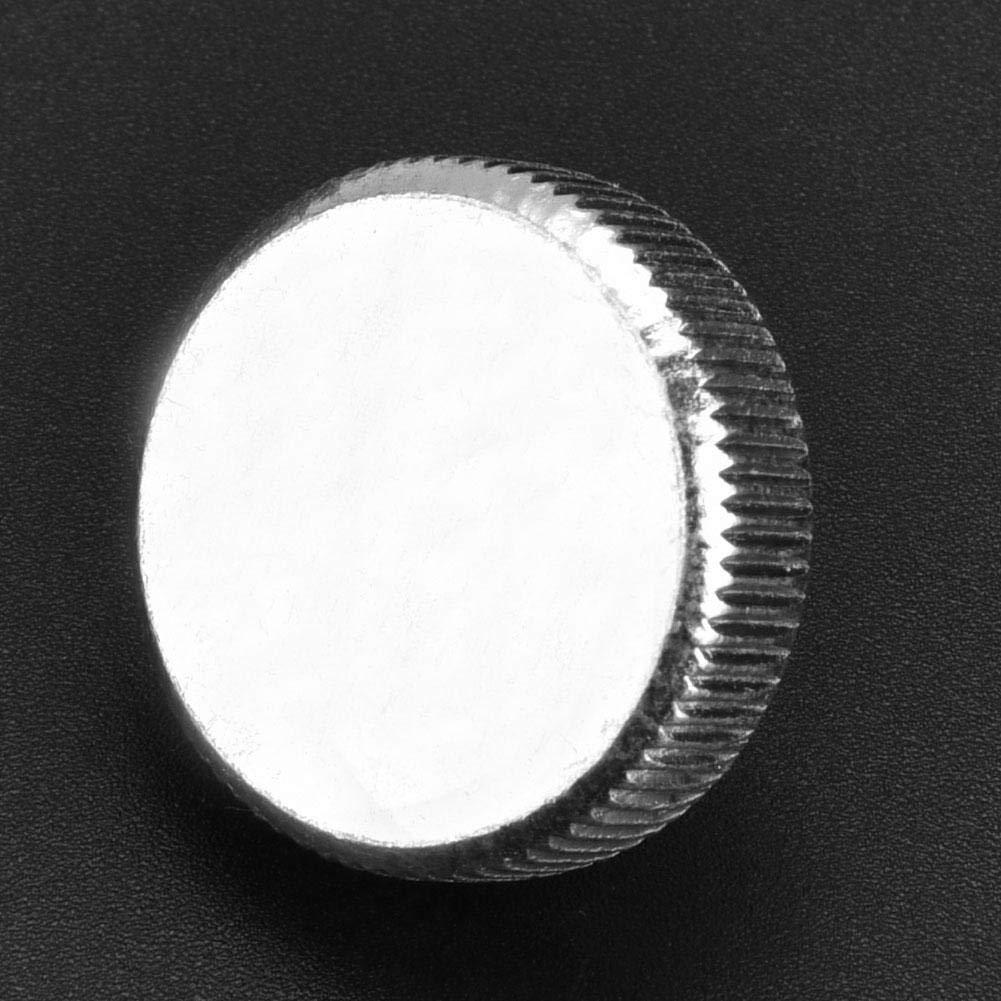 tornillo de cabeza de moleteado plano de acero al carbono 10pcs M8 Tornillos de cabeza moleteada plana Tornillos Accesorio Tornillo de cabeza moleteada M8*25(10pcs)