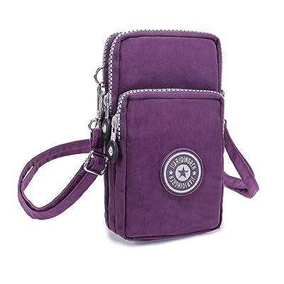 1ece826a75bc Small Shoulder Bags 3 layers Zipper Mini Bag Mobile Phone Bag Nylon ...