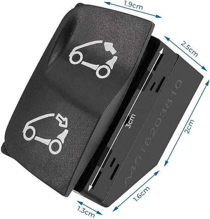 Für Smart Schalter 451 Cabrio Verdeck Schalter A4518203810 Neuware