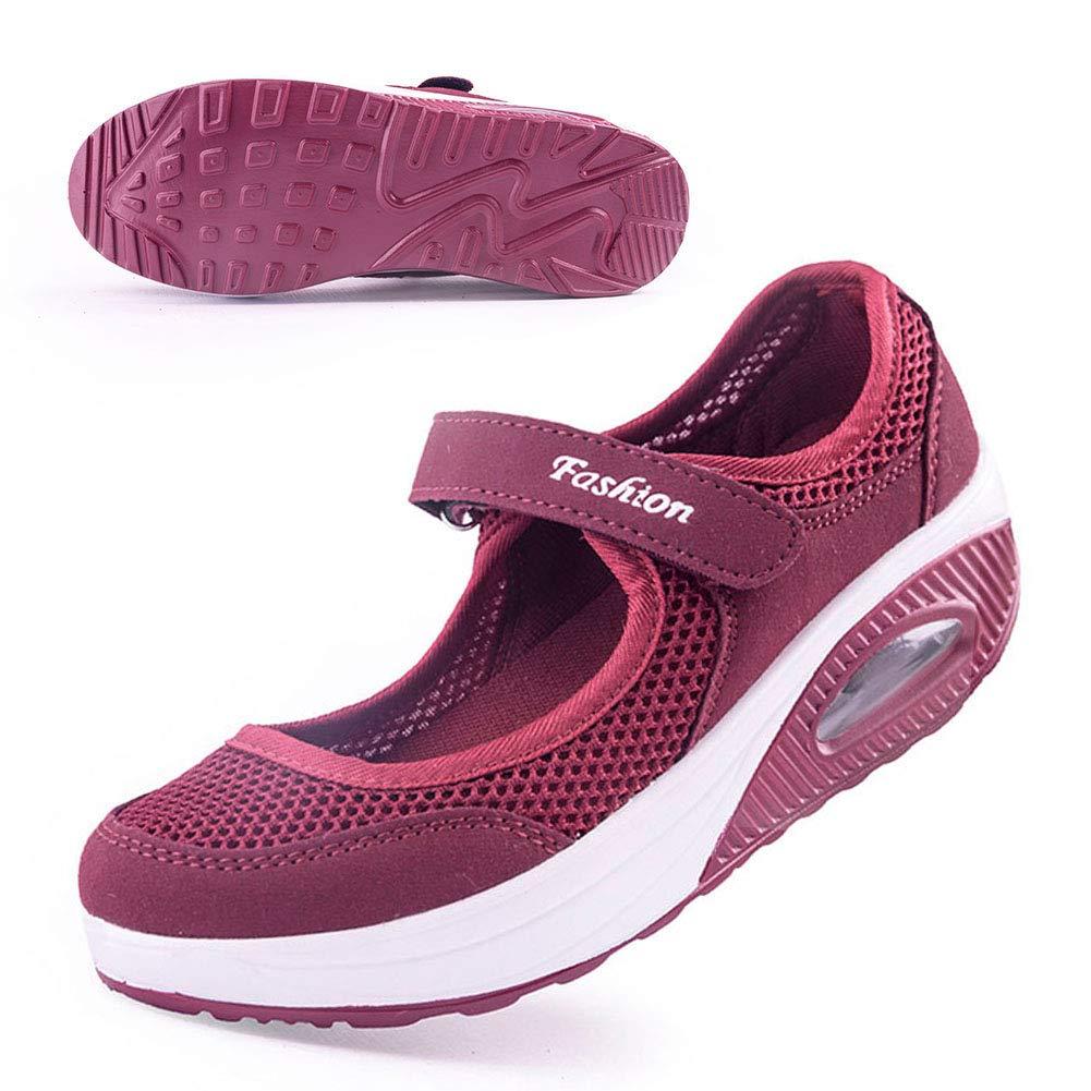 Amazon.com: Zapatillas de trabajo para mujer, cómodas ...