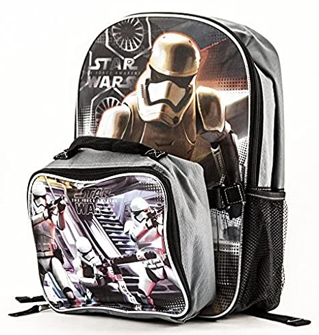 d5ae2087e3 Image Unavailable. Image not available for. Color  Star Wars Stormtrooper  Backpack with Detachable Lunch Bag