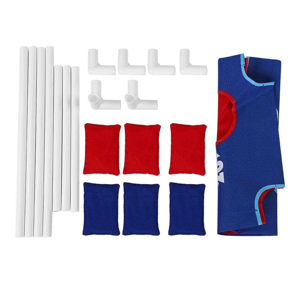 VGEBY1 Bean Bag Toss Game Set, Throwing Bean Bag Game Board Portable Toss Across Set of 1 Board and 6 Beanbags for Indoor Outdoor Play by VGEBY1 (Image #2)