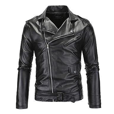 b09a957c320 HDH PU Leather Jacket