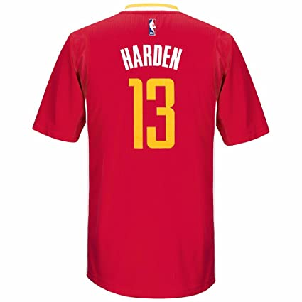 9ec6e6258 James Harden Houston Rockets NBA Adidas Red 2016-17 Pride Climacool  Swingman Jersey For Men