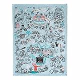 Blue Q Dish Towel Artist at Work