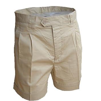 Ropa hombres hombres de para Algodón cortos botones Verano Pantalones con qMVzjLSUpG