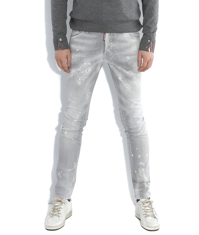 Wiberlux DSquared2 Men's Distressed Vintage Denim Cool Guy Fit Jeans