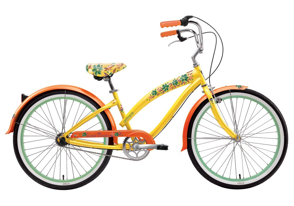 Nirve Island Flower 2011 - Bicicleta playera de 3 velocidades ...