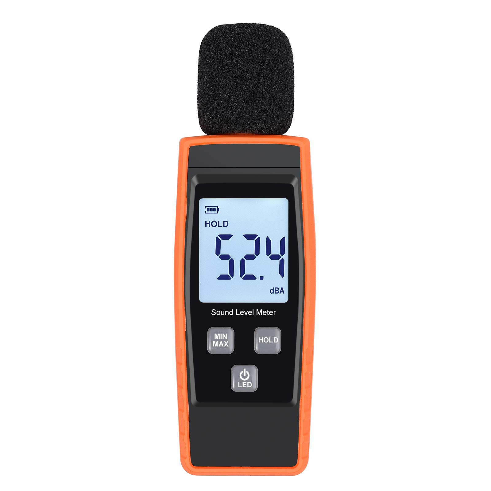 Proster Noise Meters Mini Digital Sound Level Noise Meter 30-130dBA 31.5HZ-8KZ Decibel Pressure Monitor DB Tester by Proster