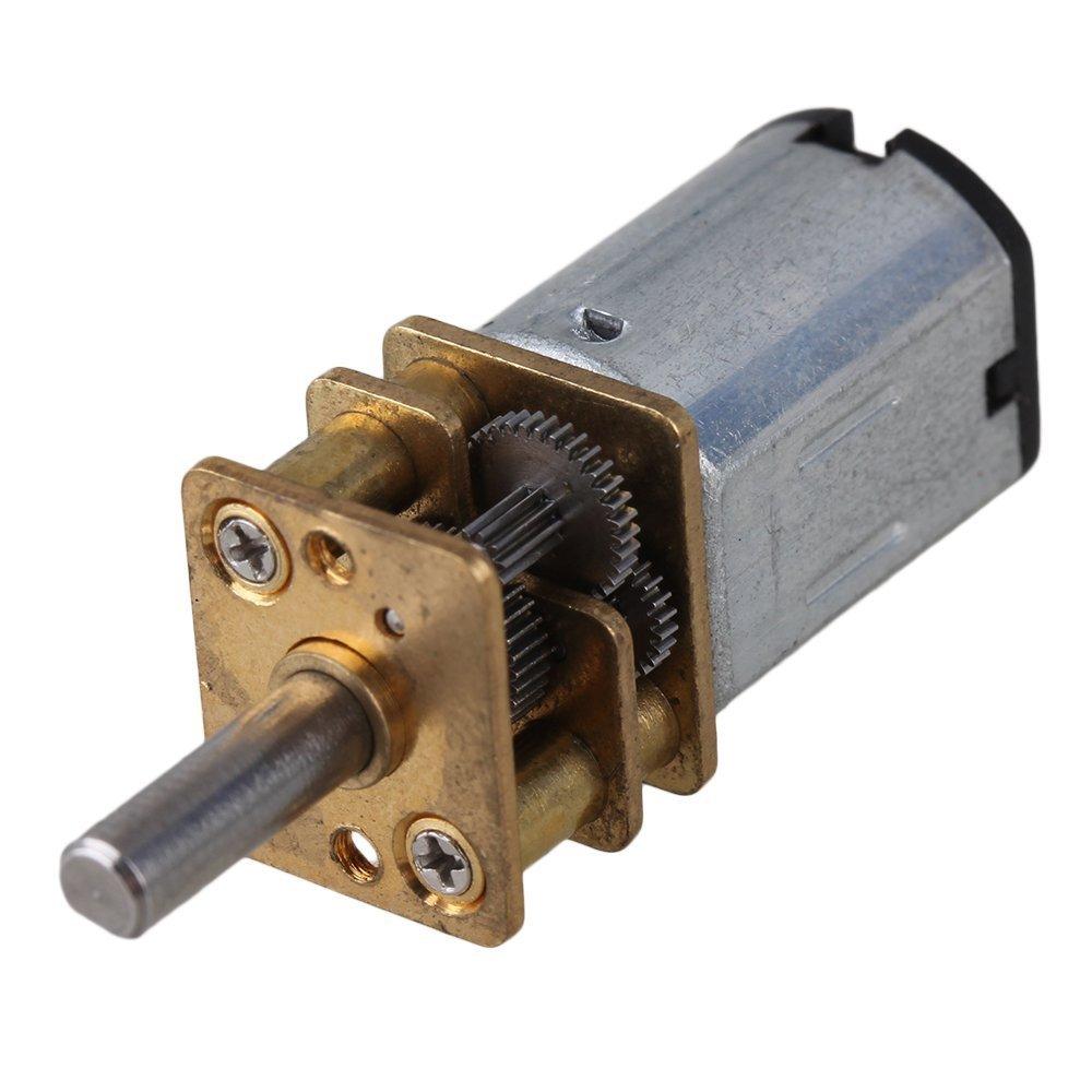 cnbtr 12 mm Argent ga12-n20 600RPM miniature en métal électrique 6 V DC moteur Gear Gearwheel -3- avec 3 mm Dia arbre de sortie yqltd