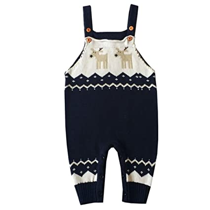 0bdf21702fc4 Amazon.com   Elogoog Toddler Baby Romper Shoulder Strap Ugly ...