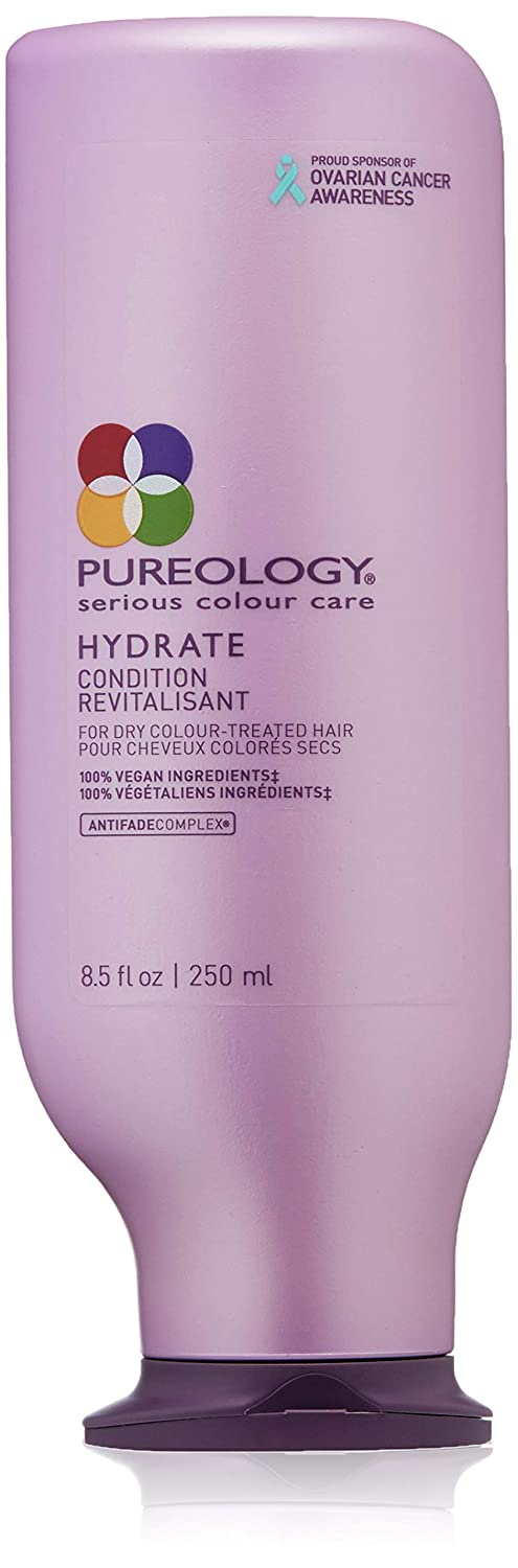 Pureology | Hydrate Moisturizing Conditioner | For Medium to Thick Dry, Color Treated Hair | Sulfate-Free | Vegan