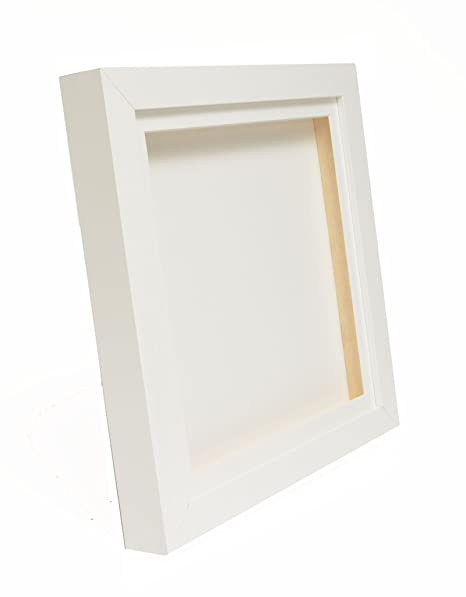 White 3D Deep Box Picture Frame Display Memory Box For Medals ...