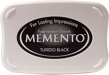 Image ofTsukineko ME000900 - Almohadilla de tinta, color negro, 9.8 x 6.8 x 1.8 cm