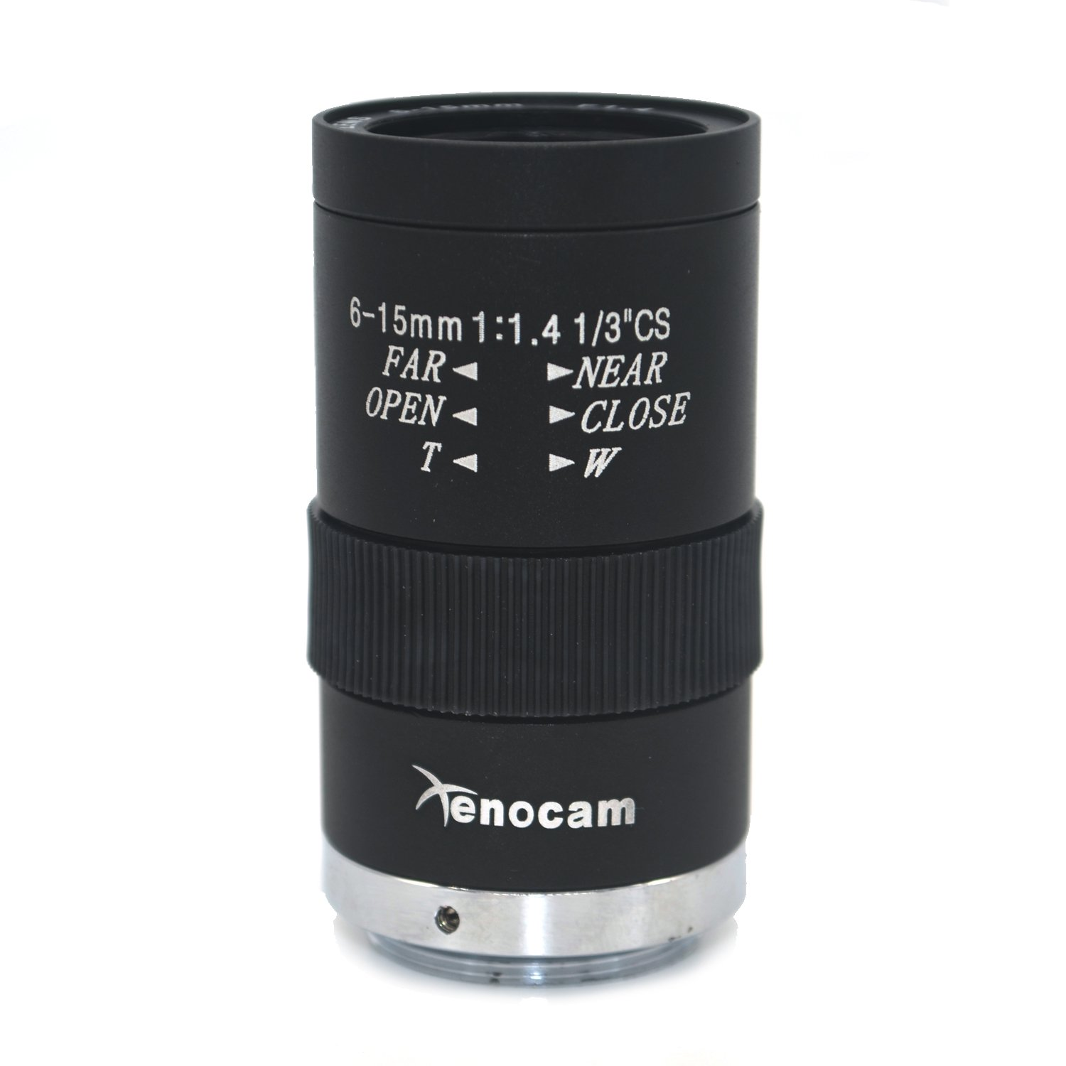 Xenocam 6-15mm 1/3'' F1.4 CS Mount Varifocal CCTV Manual Lens for cctv camera by Xenocam