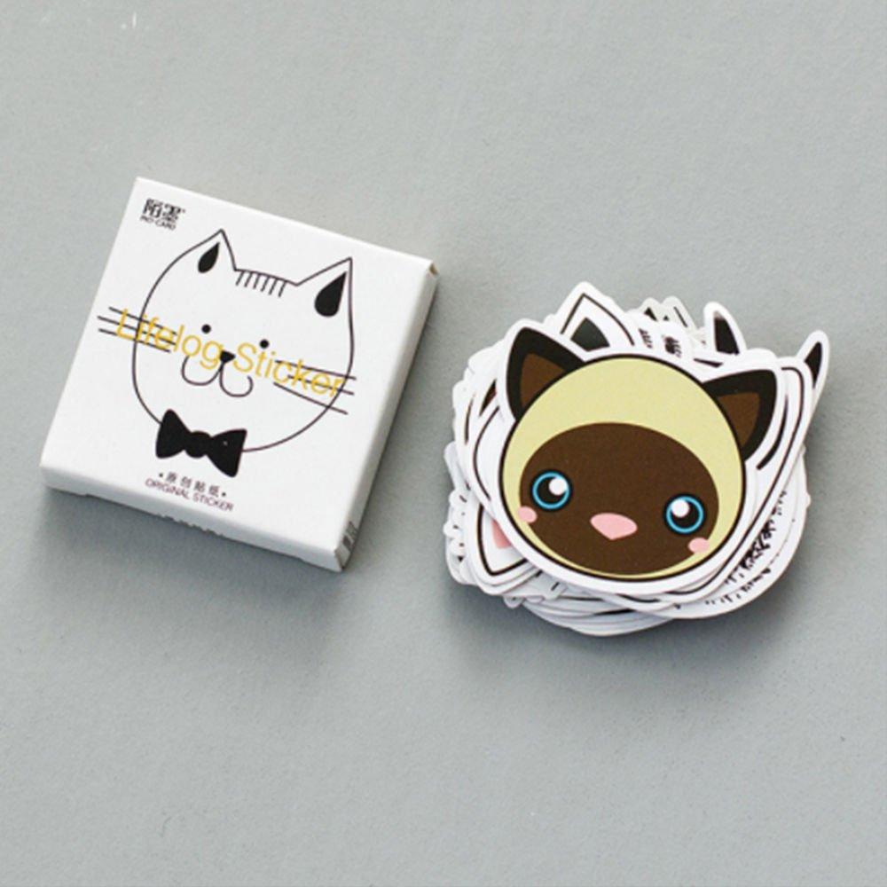 cat buddies sticker DECO FAIRY Kawaii Japanese Cat Style Stickers