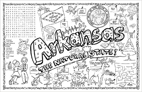 Buy Arkansas Symbols And Facts Funsheet Single Sheet Arkansas