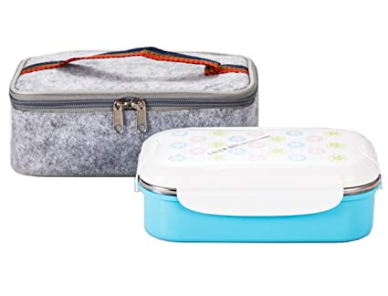 Amazon.com  Lille 22oz Stainless Steel Leakproof Lunch Box ... bffee02ac9ed