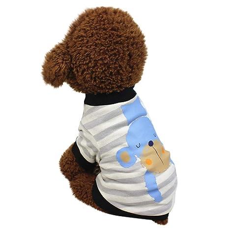 BBsmile pequeño Perro Mono de Invierno con Capucha de ...